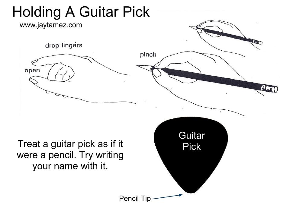 Holding-a-pick